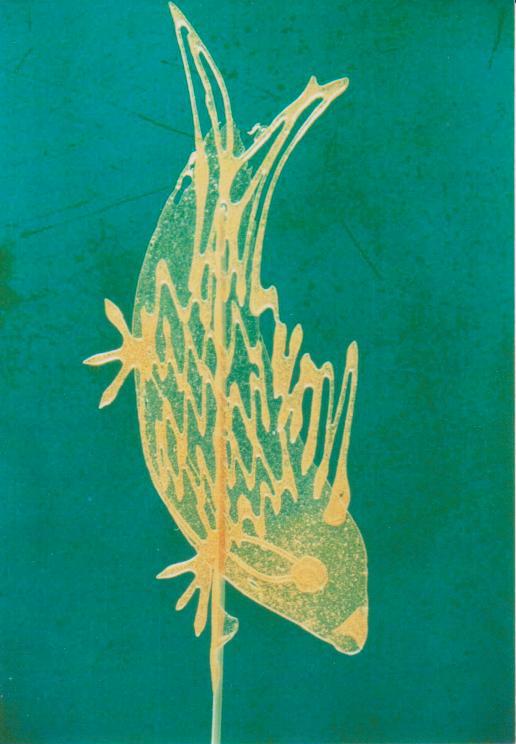 手绘鲤鱼手机壁纸